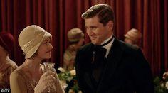 New love: Tom Branson (Allen Leech) appeared to be flirting in the finale trailer