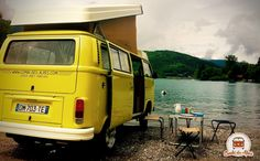 Louez un Combi VW et découvrez Annecy, son lac et ses montagnes ! ............... Rental VW Van and discover Annecy, lake and mountains !  www.combi-des-alpes.com