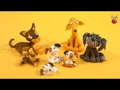 Puppy Polymer Clay Tutorial