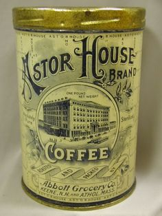 Old Coffee Container
