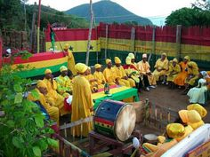 Ites gold and green -> RastafarI Youth initiative council on facebook