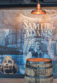 ANP Lighting's D616 Deep Bowl shade and W514 Warehouse shade were chosen to help add to the allure of the new and exciting Sam Adams Tap Room located in the heart of Boston Massachusetts's Faneuil Hall! These fixtures feature our stunning Raw Copper color finish, complimenting the rich color of Sam Adam's tasty beer!