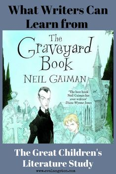 As part of my Great Children's Literature Study, today we have a lovely guest post from middle grade author H. Kates on what writers can learn from The Graveyard Book by Neil Gaiman. #amreading #kidlit #amwriting #writerslife #childrensbooks