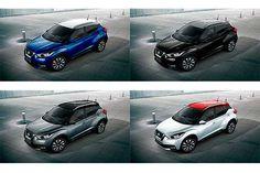 A Nissan convida você a tentar qual nova opção combinação de duas cores do Nissan Kicks que será apresentada no Salão do Automóvel de São Paulo. O evento está marcado para o São Paulo Expo entre os dias 10 e 20 de novembro.  Leia mais...