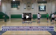 Famous Volleyball Players, Volleyball History, Volleyball Videos, Coaching Volleyball, Drill, Basketball Court, How To Plan, Game, Hole Punch