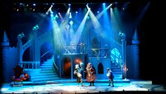 Beauty and the Beast. Stage design by Bambi Friedman. Set Theatre, Theater, Set Design Theatre, Theatre Stage, Stage Lighting Design, Stage Set Design, Lighting Concepts, Bambi, Concert Stage Design