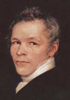 Karl Friedrich Schinkel 1826, Gemälde von Carl Begas