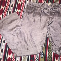 Grey silk pants Excellent used condition. Old Navy Intimates & Sleepwear Pajamas