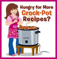 Hungry Girl - WOW! #crockpot, #Crock, #pot, #slowcooker, #slow, #cooker, #desserts, #healthy, #soup, #soups, #dinner, #over night, #breakfast, #holiday, #meals, #meal, #make, #ahead, #oamc, #Freezer, #ingredients, #cooking, #recipes, #recipe, #time, #money, #Vegetarian, #meatless, #tips, #food