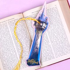 """Tangled Bookmark as """"thank you card!"""""""