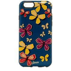 SONIX Mariposa iPhone 6/6s Inlay Case ($19) ❤ liked on Polyvore featuring accessories, tech accessories and no color