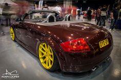Audi TT Brown & yellow