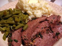 Slice of Southern: Herb Rubbed Flank Steak