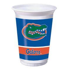 (96/case) Case of University of Florida Plastic Cups, 20 Oz