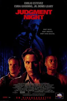 Music from the Motion Picture Judgment Night by Various Artists Rap Rocks last stand Streaming Vf, Streaming Movies, Action Comedy Movies, Horror Movies, 90s Movies, Emilio Estevez, Film Books, Universal Pictures, Movie Collection