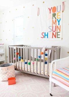 13 Wall Art Nursery Ideas to DIY via Brit + Co