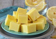 Lemon Fudge is a silky smooth white chocolate fudge with a fresh, sweet-tart lemon taste. It's a quick and easy recipe that you'll make over and over again!