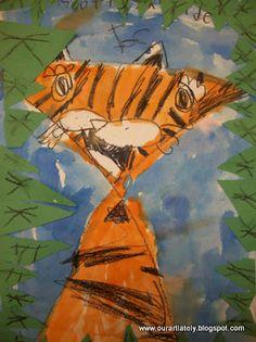 Kindergarten Tiger Lesson