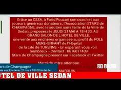 STARS DE CHAMPAGNE 21 MAI HOTEL DE VILLE SEDAN VENTES AUX ENCHERES
