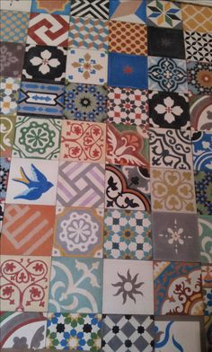 beautiful moroccan tiles Handmade tiles can be colour coordinated and customized re. shape, texture, pattern, etc. by ceramic design studios