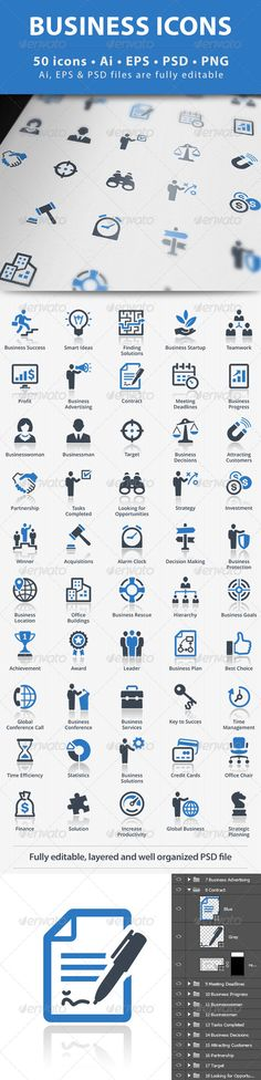 Business Icons - Blue Series | Buy and Download: http://graphicriver.net/item/business-icons-blue-series/5330003?ref=ksioks