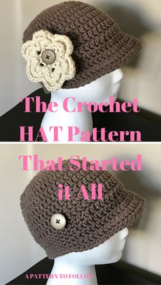 This Flapper Crochet Hat was my inspiration for crocheting Hats for other cancer patients.