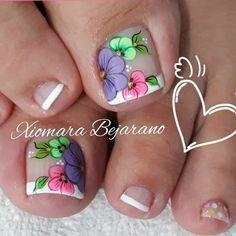 Manicure Ideas, Nail Colors, Nail Designs, Nails, Beauty, Work Nails, Vestidos, Simple Toe Nails, Cute Nails