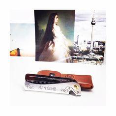 DAFT's Man Comb.  Available at Barbersurgeon.co  #daftdesign #comb #ManComb #kaiserinelisabeth