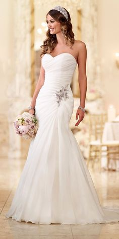 BEST #WeddingDresses of 2015 - Stella York 2015 #laceweddingdresses