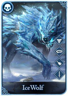 Ice Elemental, Magia Elemental, Mythical Creatures Art, Magical Creatures, Ice Monster, Ice Magic, Demon Wolf, Kurama Naruto, Magic Symbols