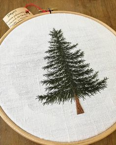 "5,974 Likes, 60 Comments - Professional Embroiderer (@delphil__) on Instagram: ""And this one is available on my #etsy shop : Delphilembroidery ✌ . . . . . . . . . . . . #sapin…"""