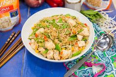 A classic Asian dish from Debbie Matenopoulos! Chicken Stir-Fry! For more tasty recipes tune in to Home & Family weekdays at 10a/9c on Hallmark Channel!