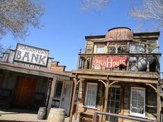 Pioneer Town California, The town started as a live-in Old West motion-picture set, built in the 1940s. The set was designed to provide a place for the actors to live while using their homes in the movie.[1] A number of Westerns and early television shows were filmed in Pioneertown, including The Cisco Kid and Edgar Buchanan's Judge Roy Bean.