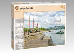 "Puzzle ""Deutsches Eck"" | OrangePuzzle | OrangePuzzle Germany, Puzzle, Polaroid Film, Deutsch, Landscape, Puzzles, Puzzle Games, Riddles"
