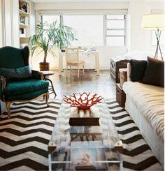 #chevron #livingroom