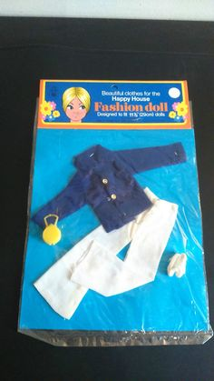 3, VINTAGE SINDY / BARBIE SIZE SEALED/CARDED MIHK OUTFIT (A) **NO DOLL**