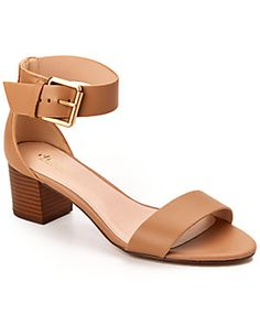 "Charles by Charles David ""Gloria"" Leather Sandal"