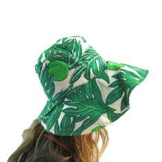 Ruth Clarage Floppy Sun Hat Womens Hats Lime Green Summer Hats Sun Hats Vintage Resort Wear Womens 1960s Montego Bay Vintage Ruth Clarage by WhyWeLoveThePast on Etsy