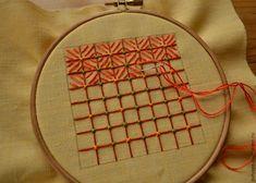 Вышивка в технике «декоративная сетка», или «Крестик для ленивых». Часть 2 - Ярмарка Мастеров - ручная работа, handmade