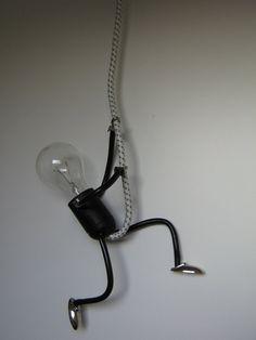 Lamp Lampje, uniek en sfeervol handgemaakt design - Foto\'s KlimLampje
