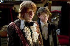 Il fantastico abito da cerimonia di Ron :D