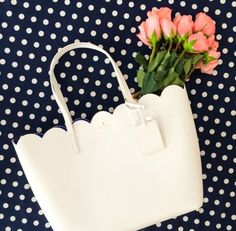 kate spade lily avenue scalloped tote