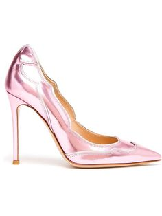 """Shoe du Jour"" 7.16.14 Gianvito Rossi Metallic Pointed Toe Pumps « Shoefessional"