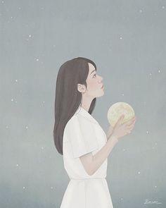 . . #MiKyungChoi #ENSEE #digitalpainting #illustration #소년아나를꺼내줘 #사계절출판사