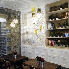Brick Graffiti Mortar Kin Restaurant By Office Sian U0026 Kai Design.