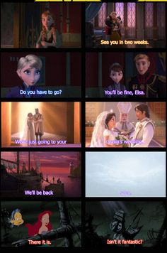 Frozen// Tangled// The Little Mermaid