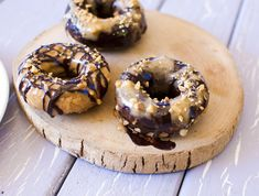 Vegan Peanut Butter Doughnuts from Fo' Reals Life