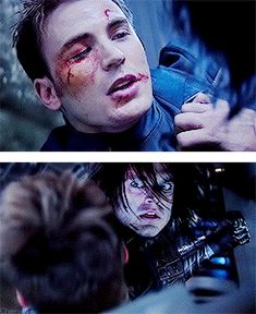 Till the End of the Line...>>the look of realization in Bucky's face breaks my heart every time