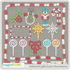 Festival of Lights {Lawn Decorations}