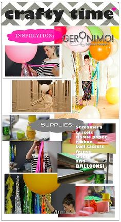 Geronimo Balloons Project!